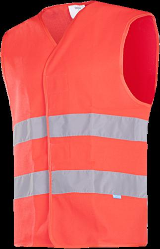 Sioen Elba (HV Red) Signalisatie Gilet-S-Fluo Rood