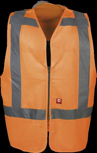 Sioen Vine Vlamvertragende Signalisatie Gilet (RWS)-M-Fluo Oranje