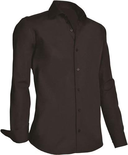 Giovanni Capraro 920-20 Overhemd - Zwart