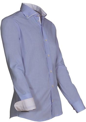 Giovanni Capraro 924-34 Overhemd - Licht Blauw