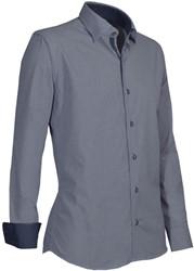 Giovanni Capraro 934-39 Overhemd - Grijs