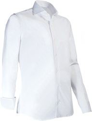 Giovanni Capraro 936-10 Overhemd - Wit