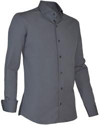 Giovanni Capraro 936-18 Overhemd - Donker Grijs