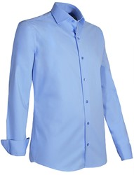 Giovanni Capraro 936-32 Overhemd - Licht Blauw