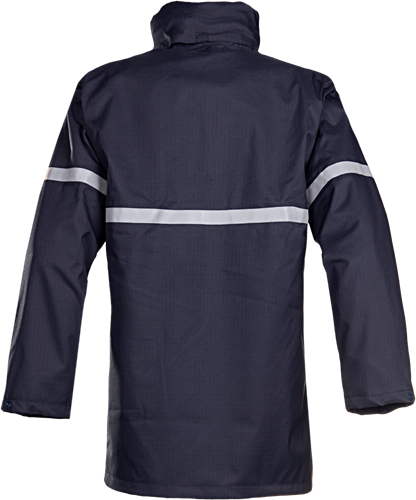 Sioen Baltero Vlamvertragende en Antistatische Regenparka-S-Marineblauw-2
