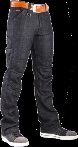 CrossHatch Spijkerbroek Toolbox-B - Antraciet-28-30