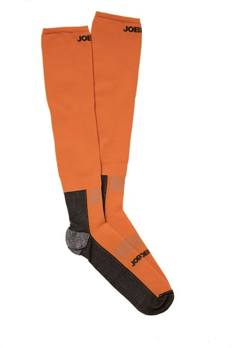 Jobman 9594 Compressie sokken Orange/zwart