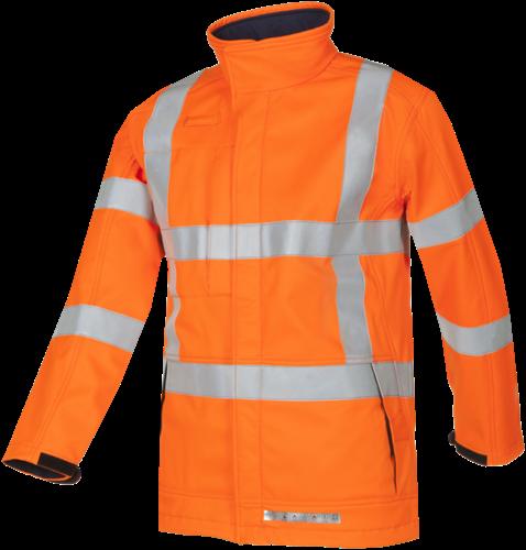 Sioen Toven Signalisatie Softshell met ARC bescherming (RWS)-S-Fluo Oranje