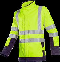 Sioen Playford Signalisatie Softshell met ARC bescherming-XS-Fluo Geel/Marine