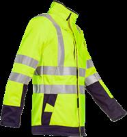 Sioen Playford Signalisatie Softshell met ARC bescherming-XS-Fluo Geel/Marine-2