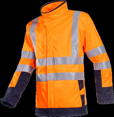 Sioen Playford Signalisatie Softshell met ARC bescherming-XS-Fluo Oranje/Marine-1