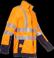 Sioen Playford Signalisatie Softshell met ARC bescherming-XS-Fluo Oranje/Marine