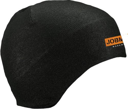 Jobman 9691 helm/muts beanie zwart