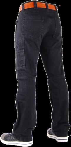 CrossHatch Spijkerbroek Toolbox-B2 - Zwart-31-32