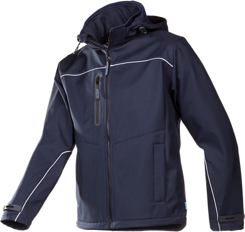 Sioen Homes Softshell Jas-Blauw-S