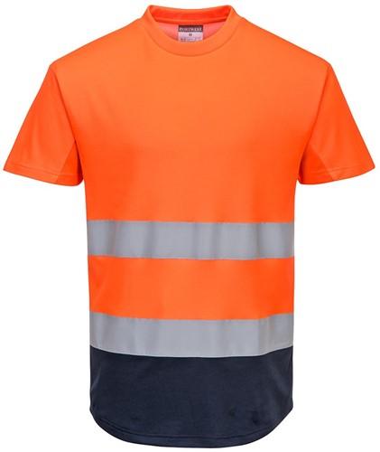 Portwest C395 Hi-Vis 2-Tone Mesh T-Shirt