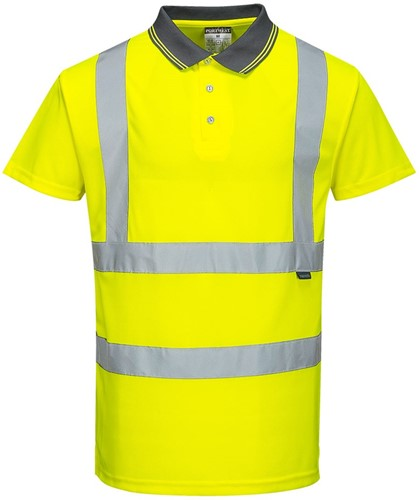 Portwest S477 Hi-Vis S/S Polo Shirt