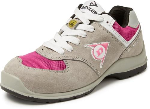 Dunlop Arrow Lage Veiligheidssneaker S3 Dames - grijs-36