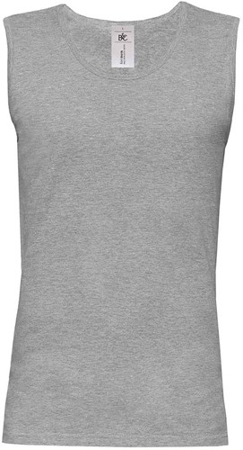 B&C Athletic move T-shirt-M-Sport grijs