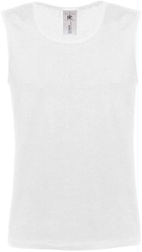 B&C Athletic move T-shirt-Wit-XXL