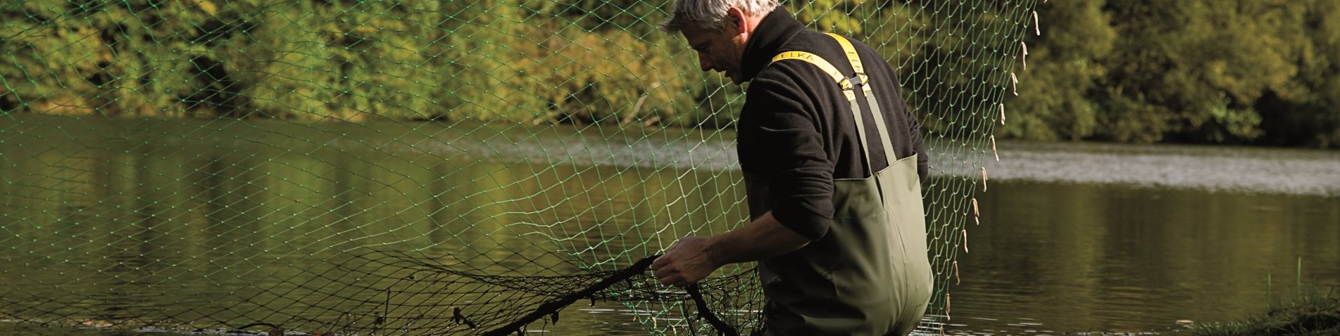 Amerikaanse vissersoverall