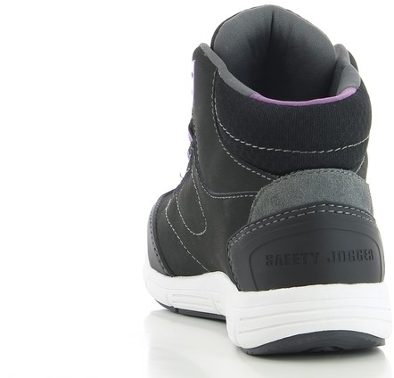 Safety Jogger Beyonce S3 - Zwart/Paars