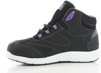 Safety Jogger Beyonce S3 - Zwart/Paars-2