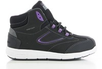 Safety Jogger Beyonce S3 - Zwart/Paars-1