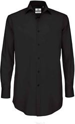 B&C Black Tie LSL Heren Overhemd