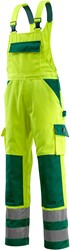 Mascot Barras Amerikaanse overall - Hi-Vis Geel
