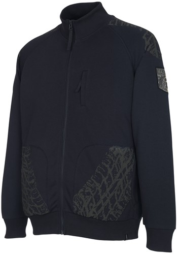 Mascot Belfort Sweatshirt met ritssluiting