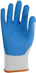 Glove On Blue Grip