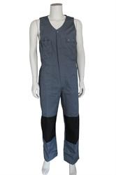 WW4A Bodybroek Katoen/Polyester - Grijs/Zwart