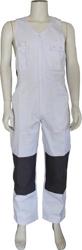 WW4A Bodybroek Katoen/Polyester - Wit/Grijs