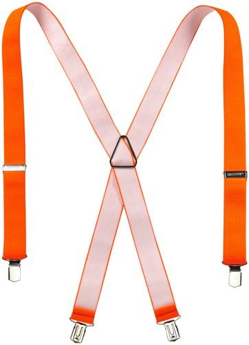 Mascot Brits Bretels-ONE-Hi-Vis oranje