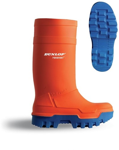 Dunlop C662343 Thermo+ Knielaars S5 - oranje-5