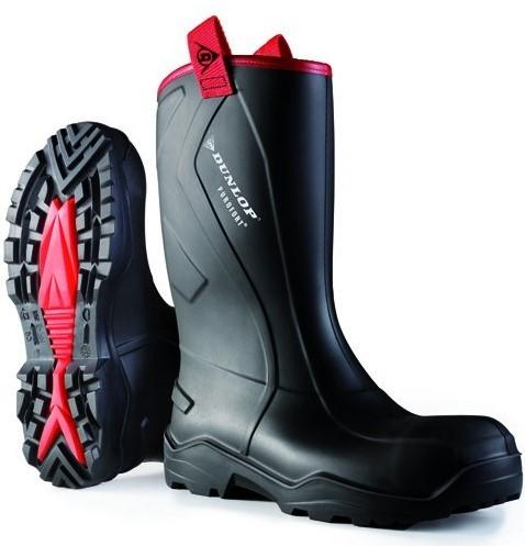 Dunlop C762043.CH Purofort+ Rugged S5 - zwart-39-3