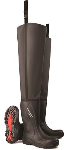 Dunlop C762043.TW Lieslaars Purofort S5 - zwart-49/50