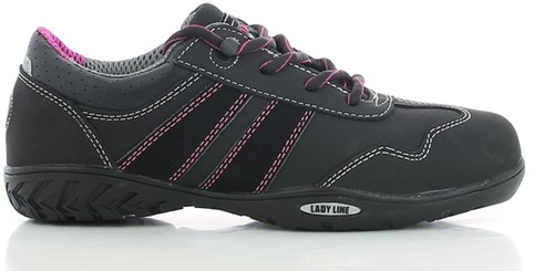Safety Jogger Ceres S3 Metaalvrij - Zwart/Roze