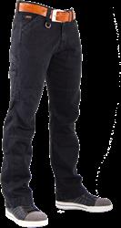 CrossHatch Spijkerbroek Toolbox-B2 - Zwart