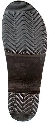 Gevavi Dakota Open Schoenklomp Hout - zwart-36