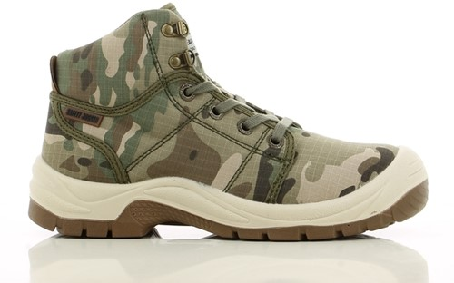 Safety Jogger Desert S1P - Camouflage-1