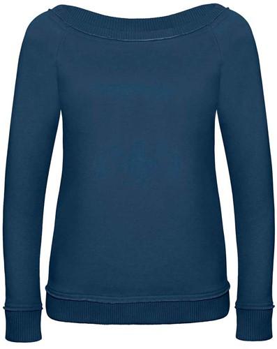 B&C DNM Invincible Dames Sweater-XS-Diep Indigo