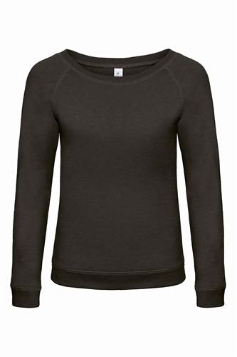 B&C DNM Starlight Dames Sweater-XS-Chic zwart