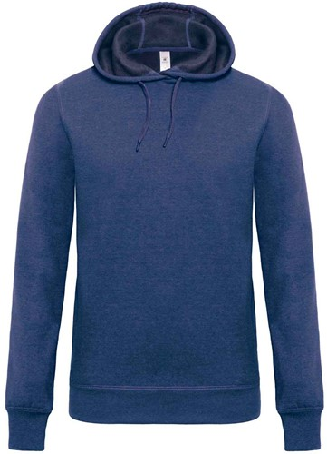 B&C DNM Universe Heren Sweater-XXL-Dark Heather blauw