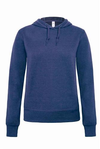 B&C DNM Universe Dames Sweater-XXL-Dark Heather blauw
