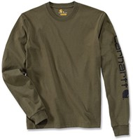 Carhartt Logo Long Sleeve Shirt-1