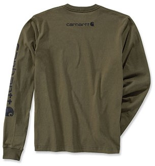 Carhartt Logo Long Sleeve Shirt-2