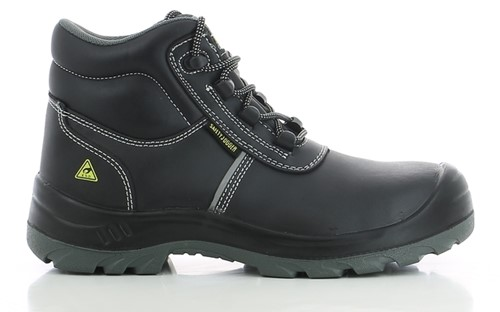 Safety Jogger Eos S3 ESD Metaalvrij - Zwart-36