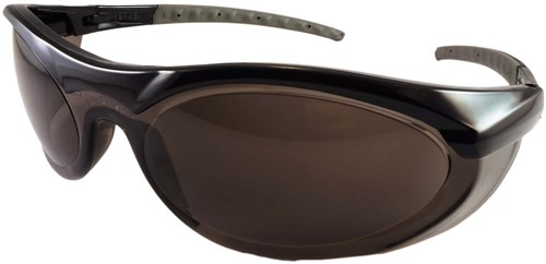 Dynamic Safety Bril CYCLONE II Lens Smoke
